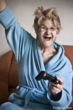 In the not-too-distant-future, your grandma may give you a run for your money on your video games. Photo credit: http://www.funtoosh.com/pictures/