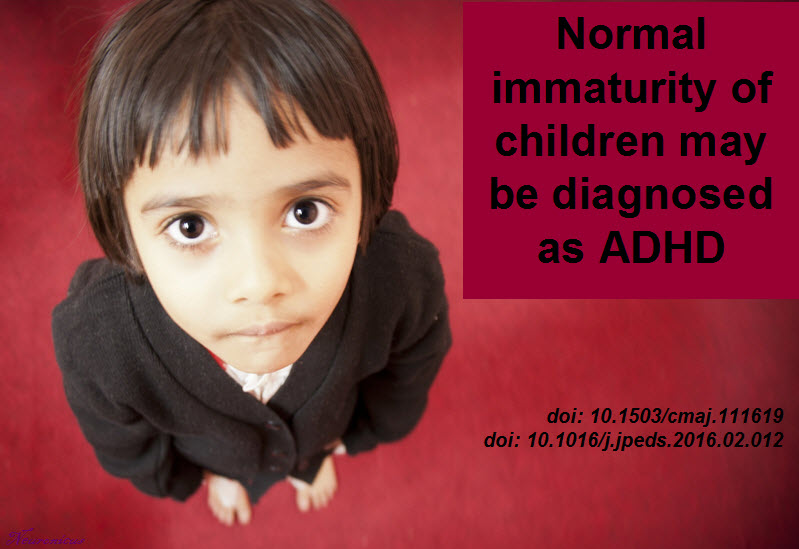 Is It Adhd Or Immaturity >> Younger Children In A Grade Are More Likely To Be Diagnosed With